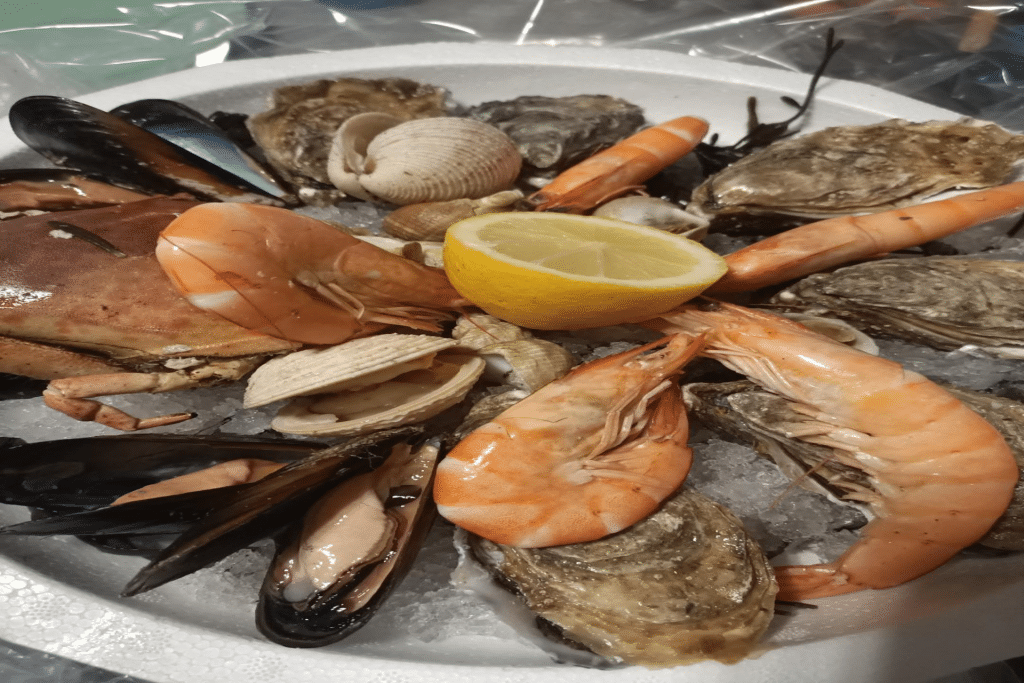 restaurant le Charlot 1er fruits de mer et poisson
