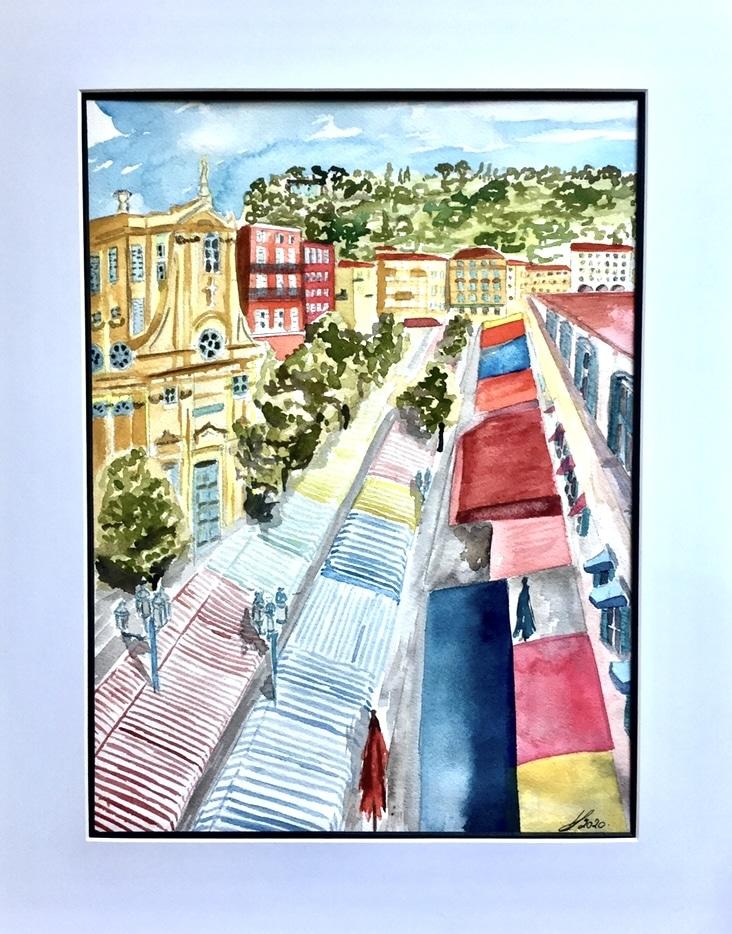 VStella,aquarelles,peinture,vente de tableaux,vente de peintures