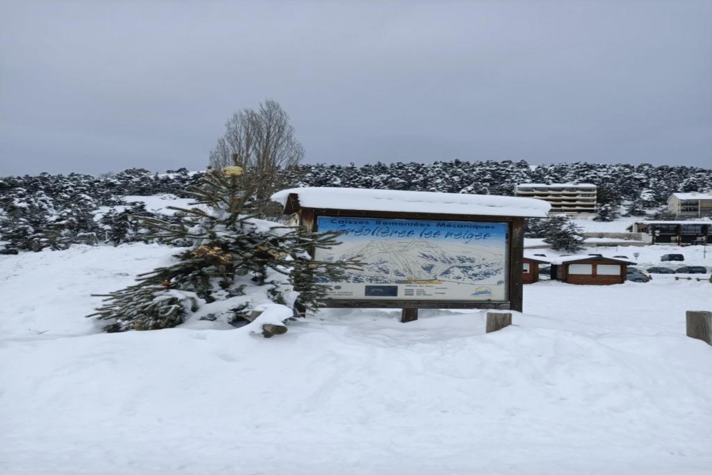 La station familiale de Gréolières-les-neiges